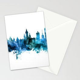 Leipzig Germany Skyline Stationery Cards