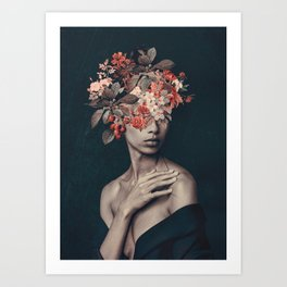 In Bloom 11 Art Print