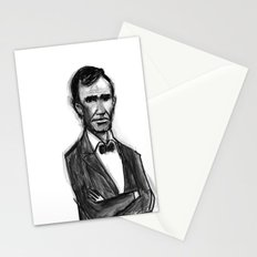 Abraham Lincoln Don't Have Time. Stationery Cards