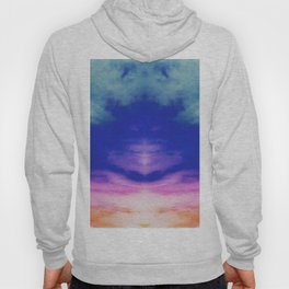 Reflective Tie Dye in the Sky Hoody