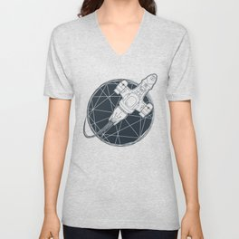 Shining star Unisex V-Neck