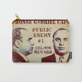 Al Capone FBI Wanted Poster Carry-All Pouch