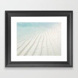 Sand Art Framed Art Print
