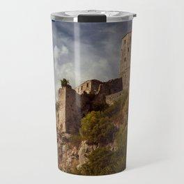 An old abandoned castle Travel Mug
