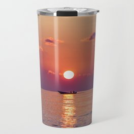 Calm Sunset (Color) Travel Mug