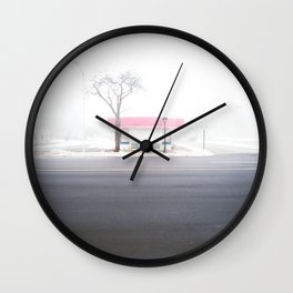 Frosty Freeze Wall Clock