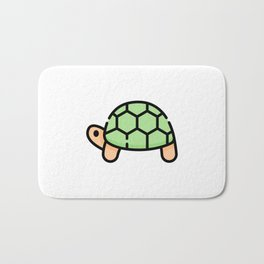 Just a Cute Turtle Bath Mat