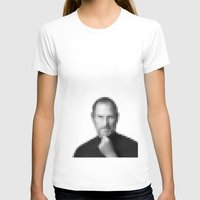 steve jobs T-shirts featuring Steve jobs by Angelina Fenty