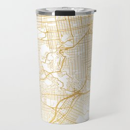 SAN FRANCISCO CALIFORNIA CITY STREET MAP ART Travel Mug