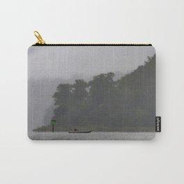 Canoe on the mist Carry-All Pouch