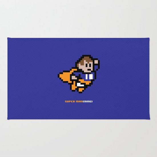 8-Bit: Super Man(ning) Rug