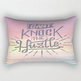 Cant knock the hustle Rectangular Pillow