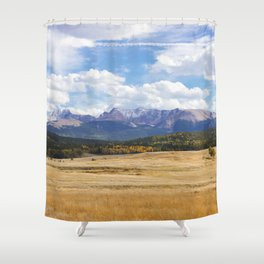 Amber Delight Shower Curtain
