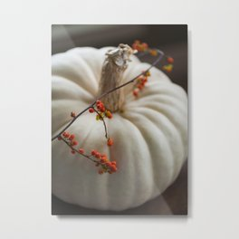 Heirloom Pumpkin Metal Print