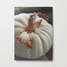 Heirloom Pumpkin Metal Print