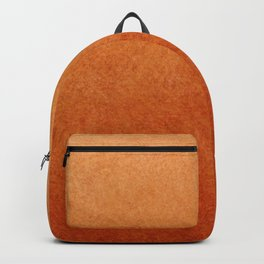 Brown Textured Ombre Abstract Backpack