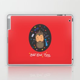Best Dad Ever Laptop & iPad Skin