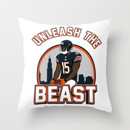 "The Victrs ""Unleash The Beast"" Throw Pillow"