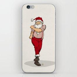 Skanking Santa iPhone Skin