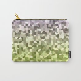Irregular Polygon Pixels Digital Artwork Abstract Carry-All Pouch