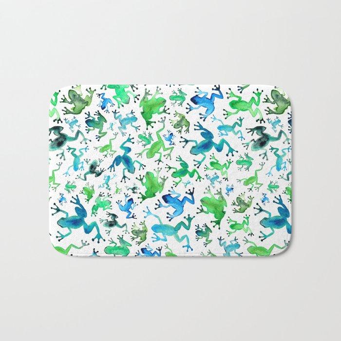 Tree Frogs Bath Mat