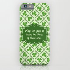 Irish Blessing Shamrocks Pattern Slim Case iPhone 6s
