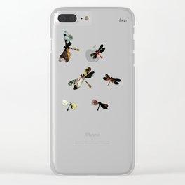 Libellules Jacob's 1968 fashion Paris Clear iPhone Case