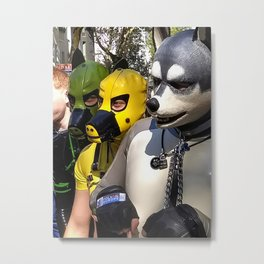 Just Another Day in Berlin Metal Print