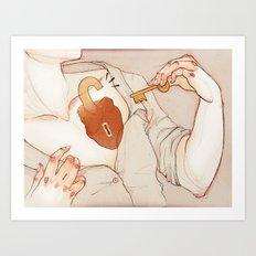 Empezar a AMAR. Art Print