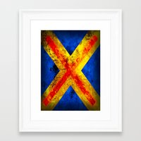 cyclops Framed Art Prints featuring Cyclops by Some_Designs