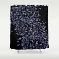 chaos Shower Curtains featuring Chaos by Display Dezign