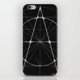 XXIst Century Anarchy Monochrome iPhone Skin