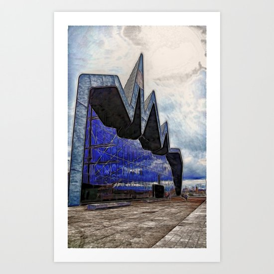 Riverside Museum of Transport Art Print