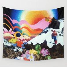 Midnight Sun Wall Tapestry