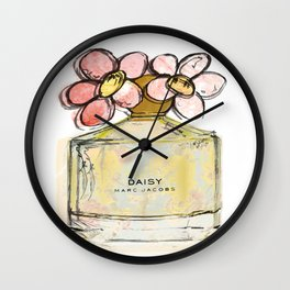 Daisy - Marc Jacob's Perfume Illustrated Wall Clock