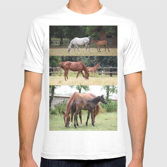 Horses family T-shirt