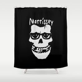 THIS GHOULISH MAN Shower Curtain