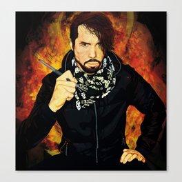 The 21st century Punk Rock Expressionist Canvas Print