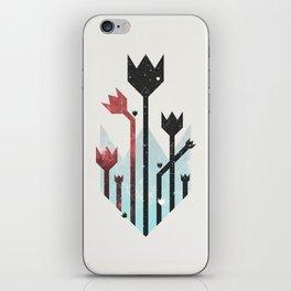 Space Tulips iPhone Skin