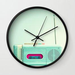 Radio Days  Wall Clock