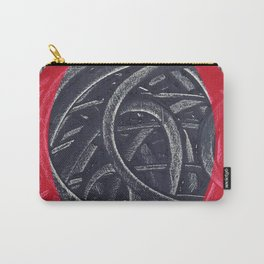 Junction- red graphic Carry-All Pouch