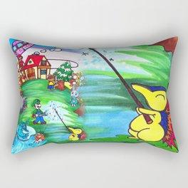 Animal crossing invasioni  Rectangular Pillow