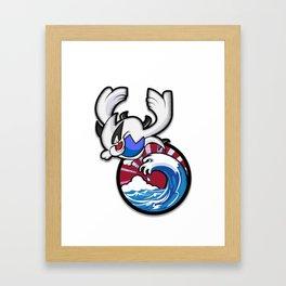 Lugia #249 Framed Art Print