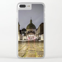 Low Angle shot Clear iPhone Case