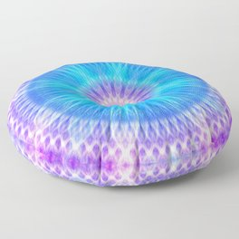 Portal of Life Mandala Floor Pillow