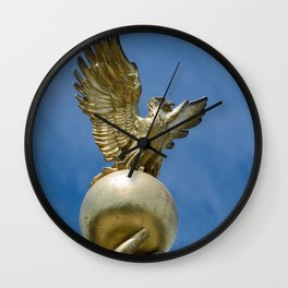 Eagle and Globe In Right Hand of The Republic 1918 Statue Chicago Wall Clock