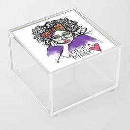 #STUKGIRL AVE Acrylic Box