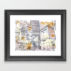 Longacre Square  Framed Art Print