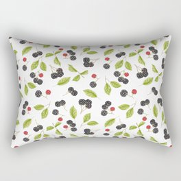 Blackberry Season Rectangular Pillow