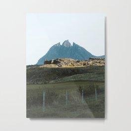 Iceland's South Coast Metal Print